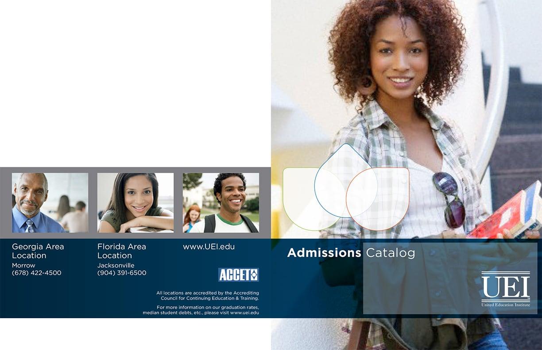 Uei Admissions Catalog 1