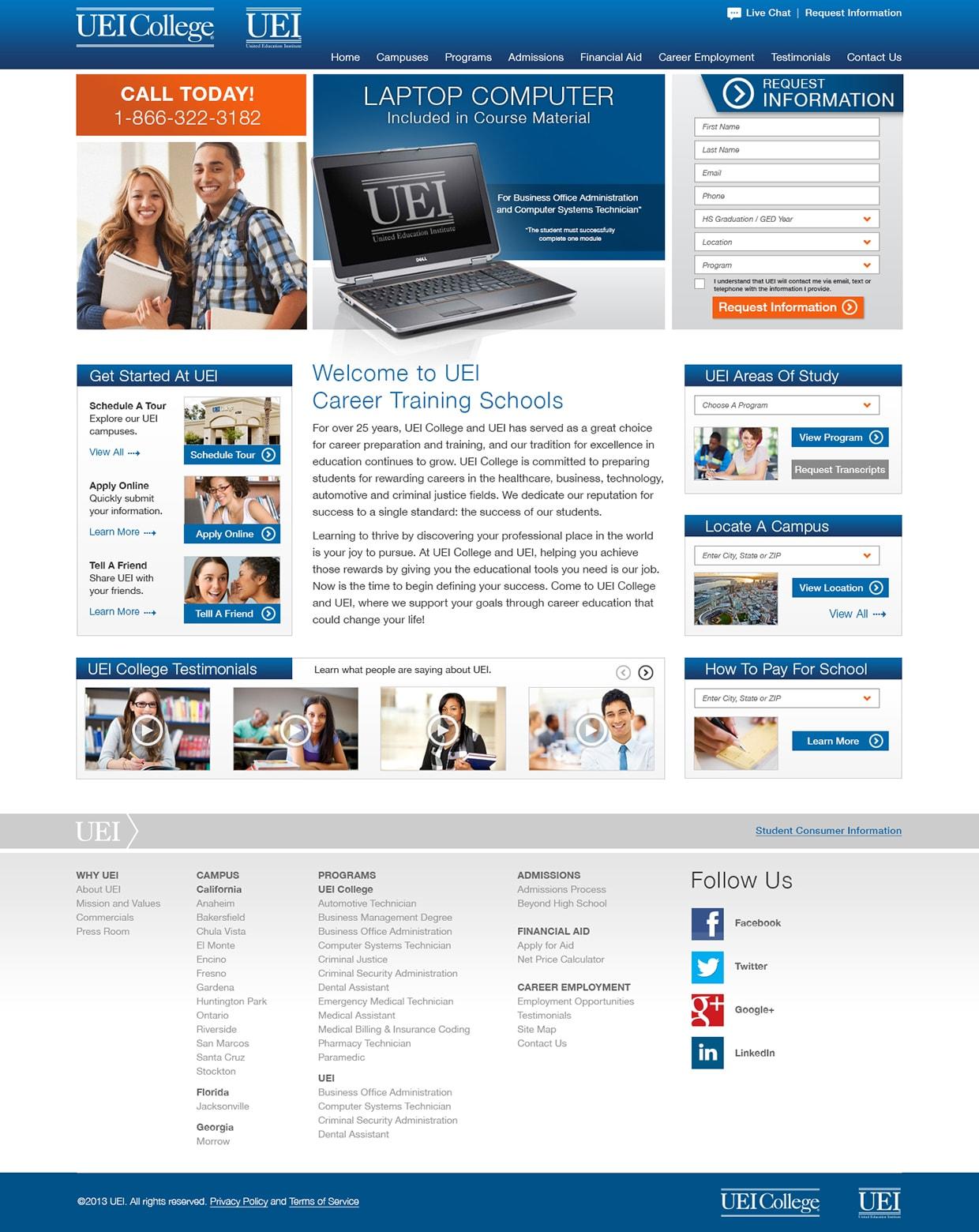 Uei Website 1