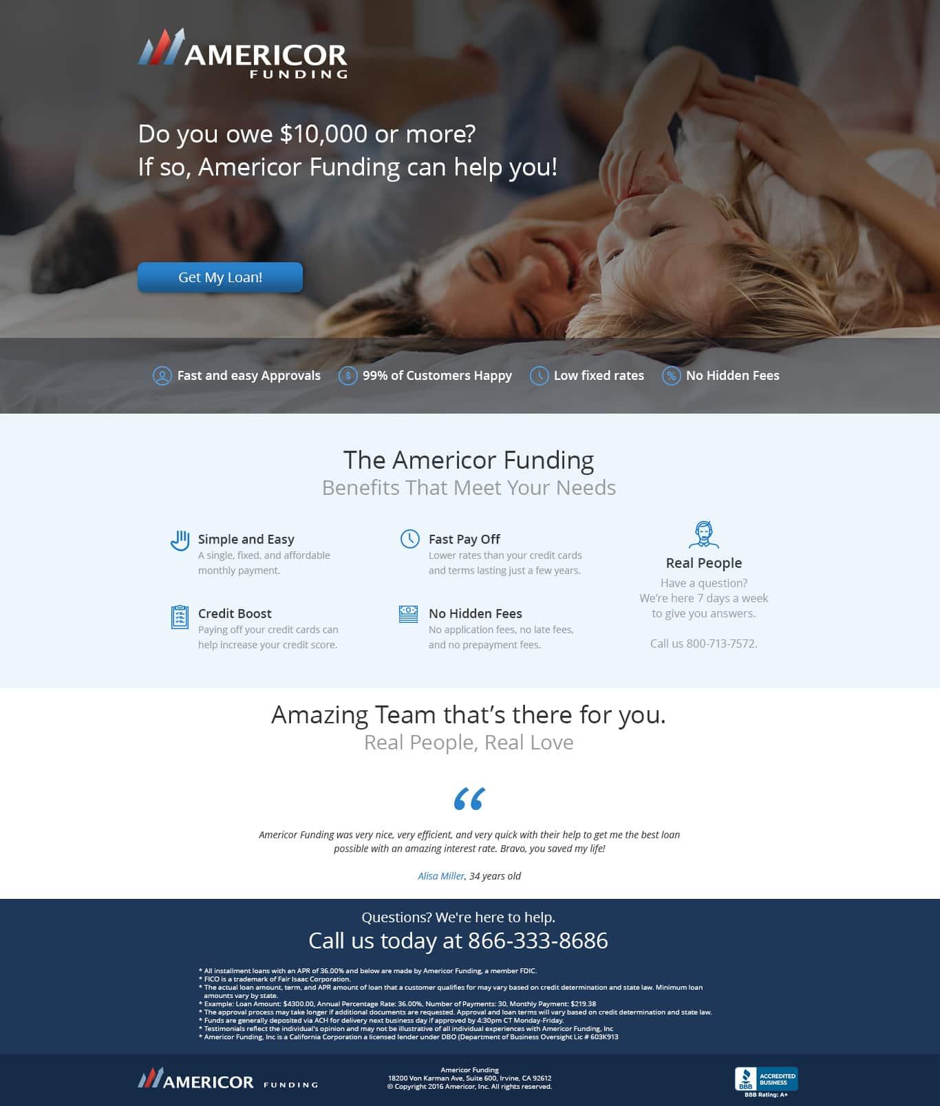 Americor Funding Lp 1