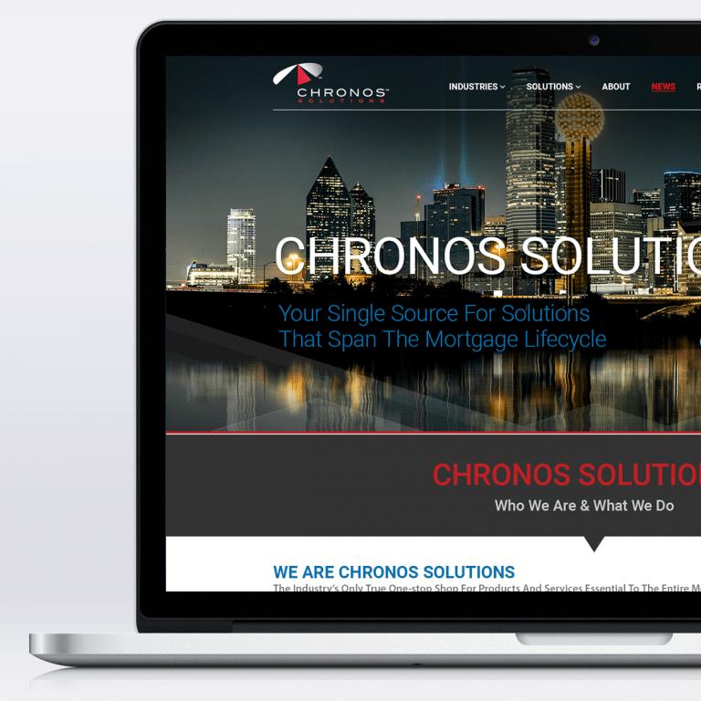 Chronos Solutions – Website Comp