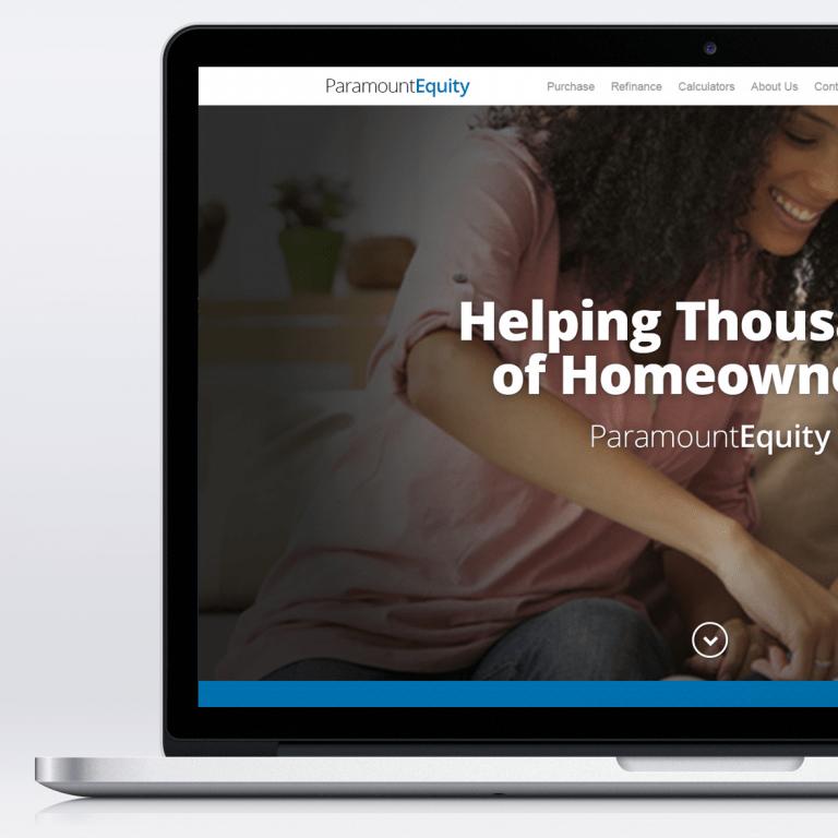 Paramount Equity – Website Comp